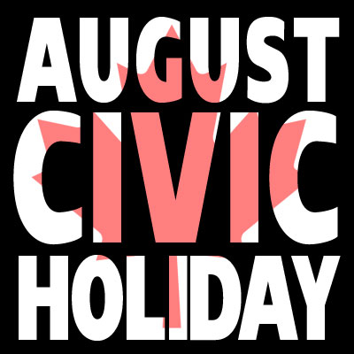Aug Civic Holiday